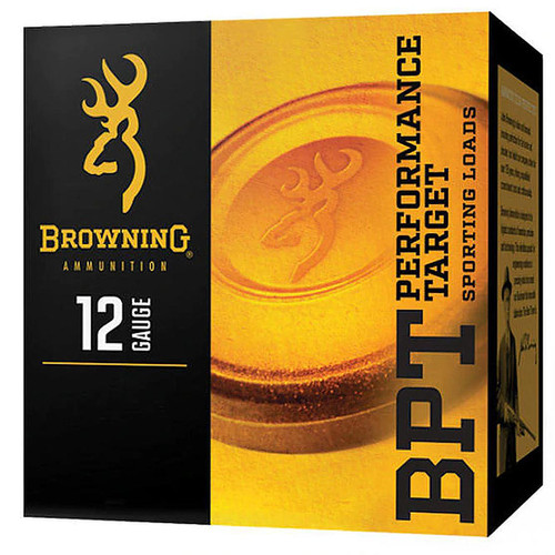 Browning BPT Performance Target Shotshell 12 Gauge #7.5 1200 fps 25 Rounds