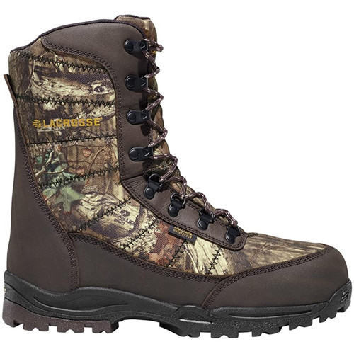 "Lacrosse Men's Silencer 8"" 800G Boots Mossy Oak  10"