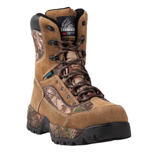 Itasca Men's Grove 400G Insulated Waterproof Hunting Boots - Realtree Xtra 10