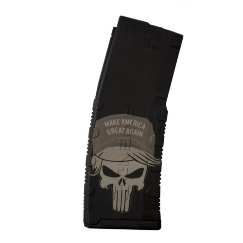 Black Rain Official Lasered Trump Punisher 5.56/.223 30 Round Magazine