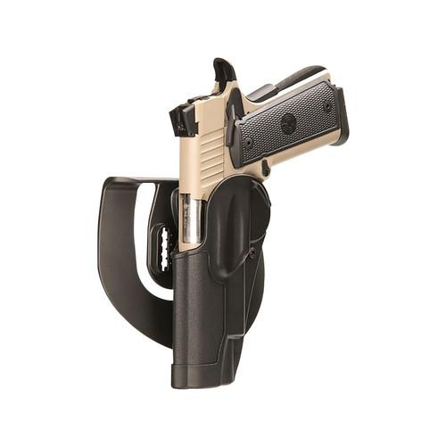 BLACKHAWK Standard CQC Paddle Holster Left Hand Glock 42 Polymer Black
