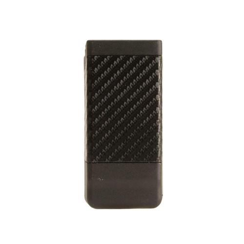 BLACKHAWK CQC Single Magazine Pouch Double Stack 9mm, 40 S&W Polymer Carbon Fiber Black