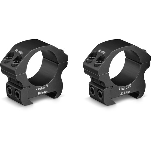 "Vortex Optics 1"" Pro Picatinny-Style Rings Low Matte"