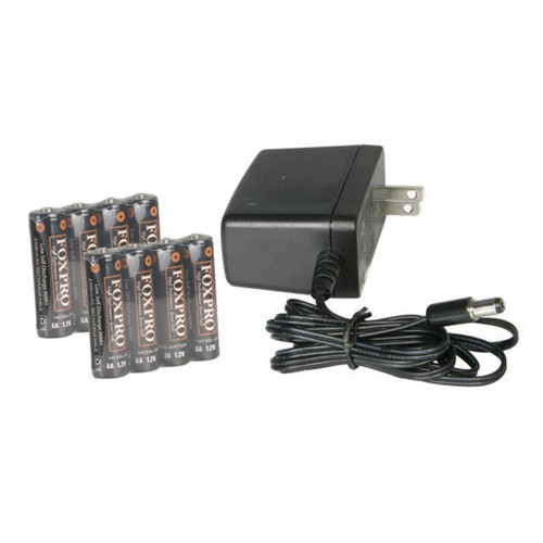 FOXPRO NIHMH COMBO 8CELL RECHARGABLE LITHIUM BATTERY/CHARGER KIT