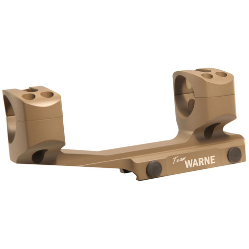 Warne 1-Piece Gen 2 Extended SKEL MSR Scope Mount Picatinny-Style with 30mm Rings Dark Earth