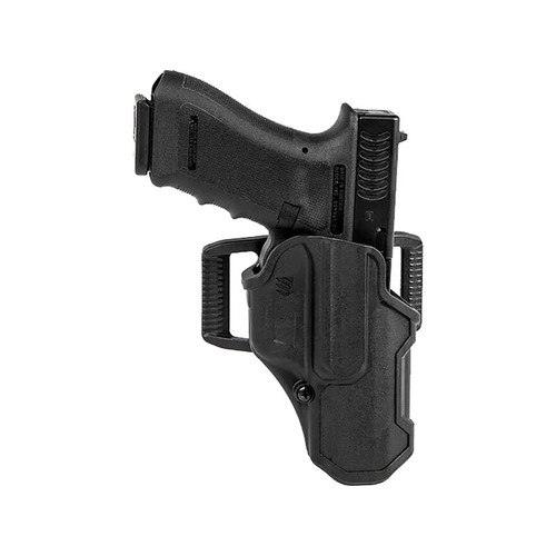 BLACKHAWK T Series L2C Holster Right Hand S&W M&P 9, 40 Polymer Black