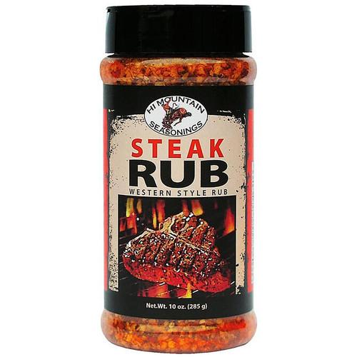 Hi Mountain Steak Rub Seasoning 10 oz