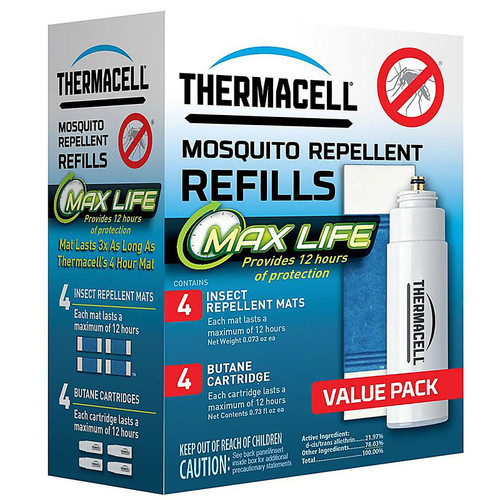Thermacell Mosquito Repellent Max Life Refill Pack