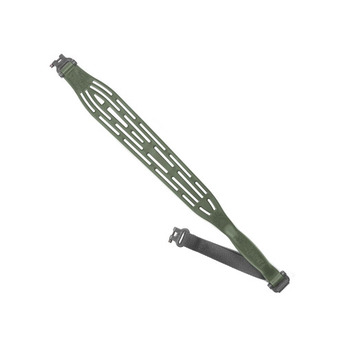 LimbSaver Kodiak-Lite Rifle Sling with Swivels Nylon / NAVCOM OD Green