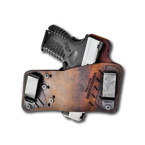 Versacarry Protector S3 Holster Right Hand Universal Fit Leather Brown