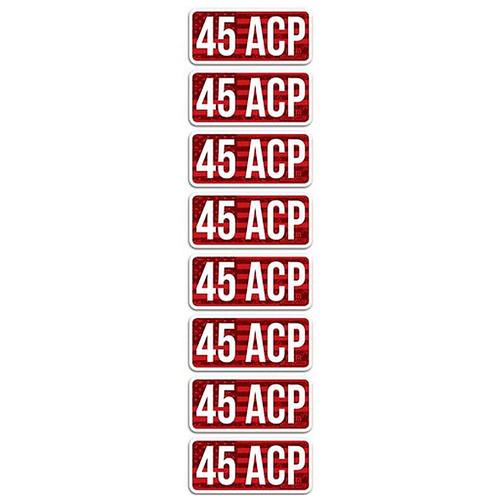 MTM CL45ACP AMMO CALIBER LABELS 45 ACP