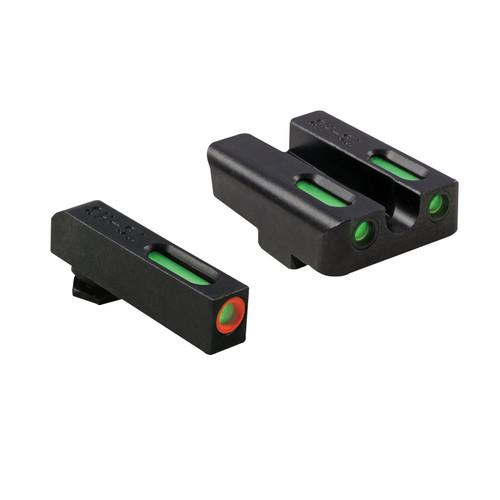 TRUGLO TFX PSS Glock 17,19,22,23,24,26,27,33,34,35 Tritium / Fiber Optic