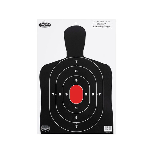 "Birchwood Casey Dirty Bird BC27 12"" x 18"" Targets Package of 8"