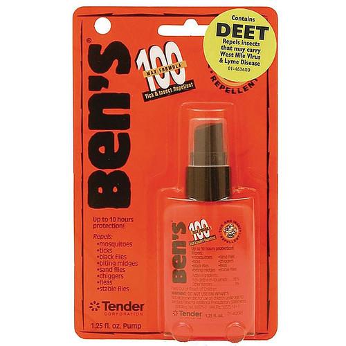 Ben's 100 95% Deet Insect Repellent Spray 1.25 oz