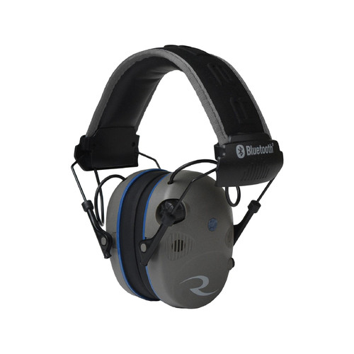 Radians R-3700 Electronic Earmuff Quad Microphone with Bluetooth (NRR 24 dB) Pewter/Black