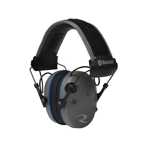 Radians R-3700 Electronic Earmuff Quad Microphone - Bluetooth Pewter/Black
