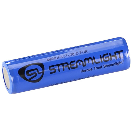 Streamlight Rechargeable Battery 18650 3.7 Volt Lithium 2600 mAH