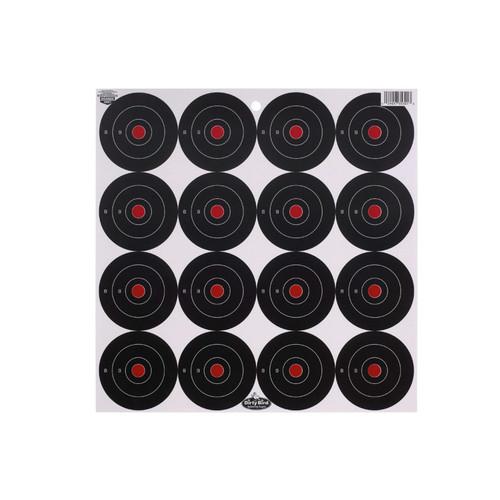 "Birchwood Casey Dirty Bird 3"" Bullseye Targets Pack of 192"