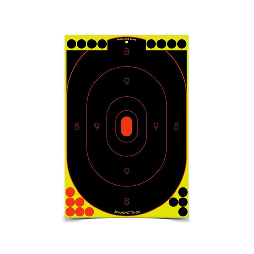 "Birchwood Casey Shoot-N-C Targets 12"" x 18"" Silhouette Pack of 5"