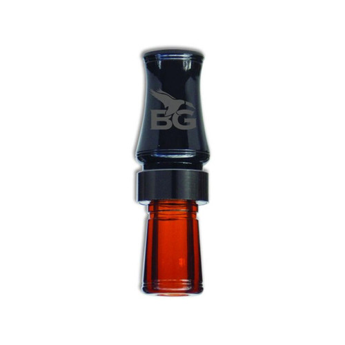 Buck Gardner Wood Duck Hammer Duck Call Black and Bourbon