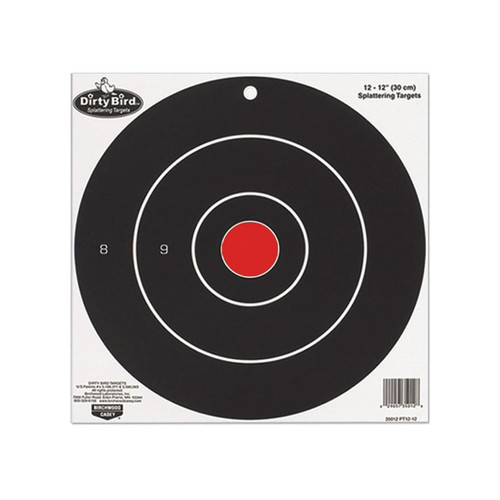 "Birchwood Casey Dirty Bird 8"" Bullseye Targetss Package of 25"