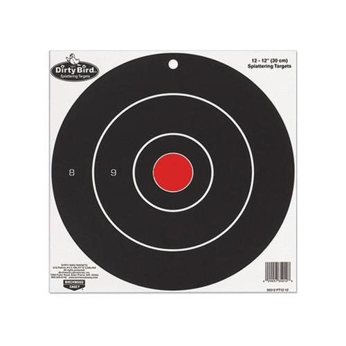 "Birchwood Casey Dirty Bird 8"" Bullseye Targetss Package of 25"