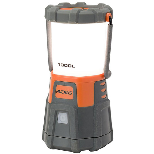 Browning Ruckus Lantern LED with USB Rechargeable Battery Gray/Orange