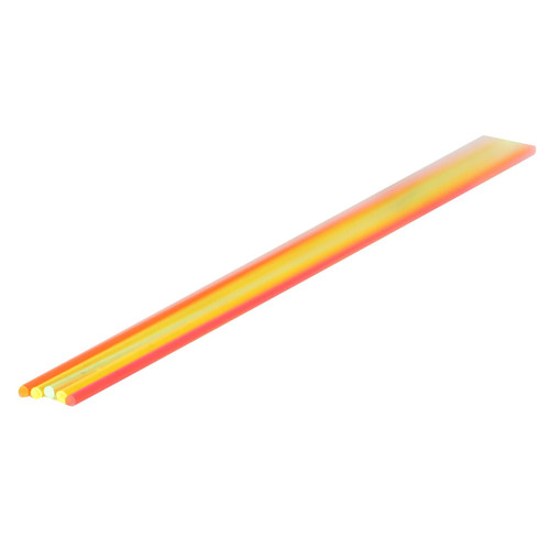 """TRUGLO FO Rod 5.5"""" x .060"""" Green, Orange, Red, Ruby Red, Yellow 5Pk"""