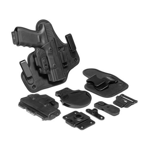 Alien Gear ShapeShift Core Carry Convertable Holster Pack Right Hand Sig Saur P320 Compact, Carry 9 Polymer Black