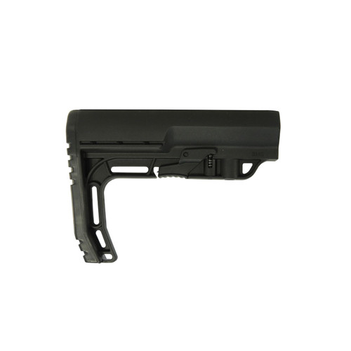 Mission First Tactical Battlelink Minimalist Collapsible Stock Mil Spec Diameter AR-15, LR-308 Polymer Black