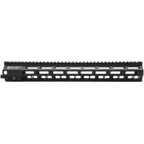 Geissele Super Modular Rail MK8 M-Lok Free Float Handguard with Low Profile Gas Block AR-15 Aluminum Black 15""