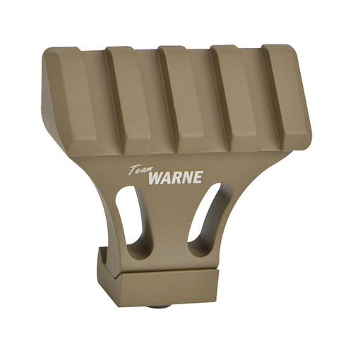 Warne 45 Degree Offset Picatinny Side Mount Adapter Aluminum Team Warne DE
