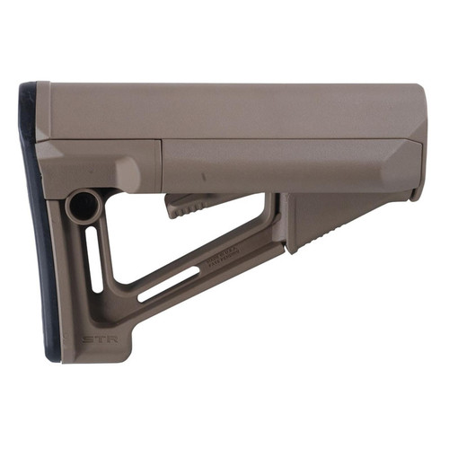 Magpul Stock STR Collapsible Mil-Spec Diameter AR-15 LR-308 Synthetic FDE