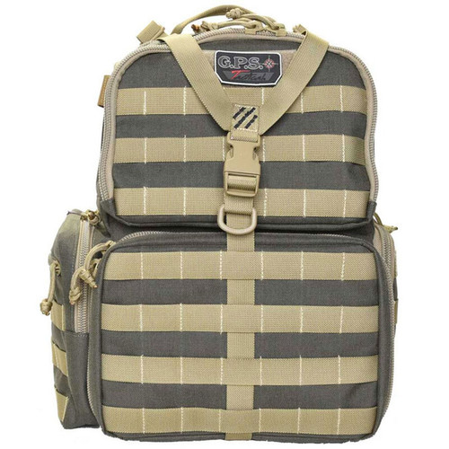 G.P.S. Tactical Range Backpack Rifle Khaki and Green