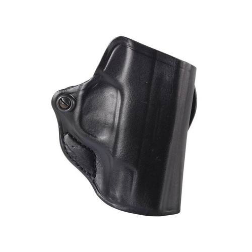 DeSantis Mini Scabbard Belt Holster Right Hand Sig Sauer P938 Leather Black