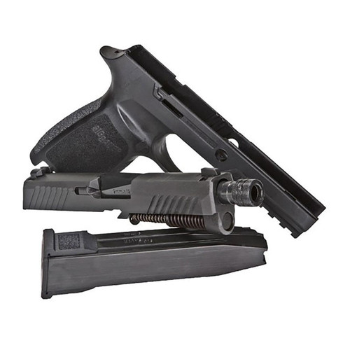 Sig Sauer Caliber X-Change Kit Sig P320 Carry TACOPS Threaded Barrel X-RAY Sights 9mm Luger with 21-Round Magazine Black