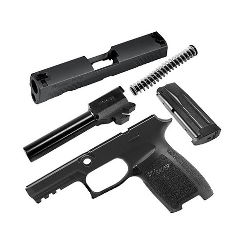 Sig Sauer Caliber X-Change Kit Sig P320 Carry 40 S&W with 14Rd Mag Black