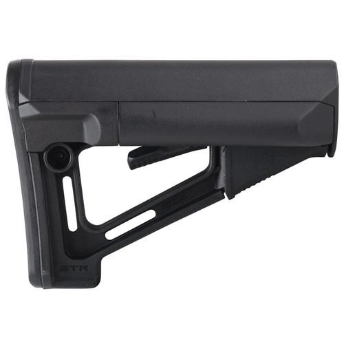 Magpul Stock STR Collapsible Commercial Diameter AR-15, LR-308 Black
