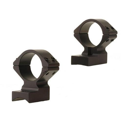 "Talley Lightweight 2-Piece Scope Mounts with Integral 1"" Rings Weatherby Lightweight Matte Medium"