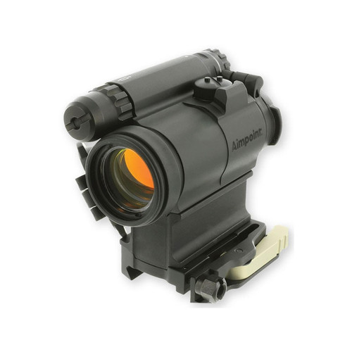 Aimpoint CompM5 Red Dot Sight 30mm Tube 1x 2 MOA Dot Picatinny-Style Mount with LRP 39mm Spacer Matte
