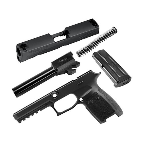 Sig Sauer Caliber X-Change Kit Sig P320 Full Size 9mm 17Rd Mag Black