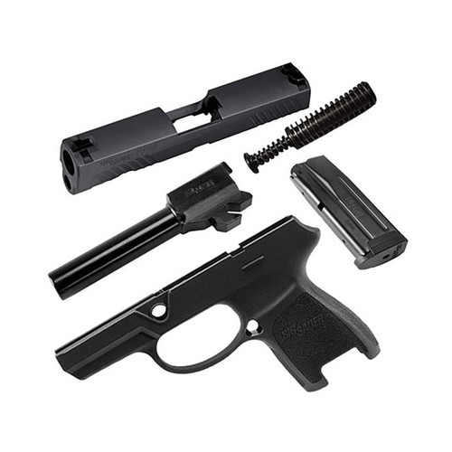 Sig Sauer Caliber X-Change Kit Sig P320 Subcompact 9mm Luger with 12-Round Magazine Black