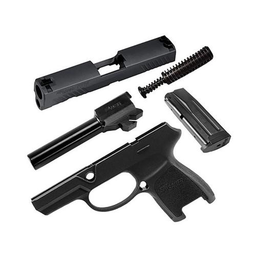 Sig Sauer Caliber X-Change Kit Sig P320 Subcompact 9mm 12Rd Mag Black