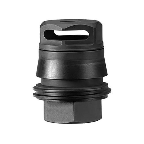 """Sig Sauer TAPER-LOK Muzzle Brake Sig SRD762-QD Suppressor Adapter 7.62mm 1/2""""-28 Thread Steel Matte"""