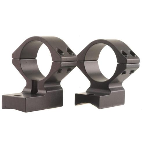 "Talley Lightweight Scope Mounts, Integral 1"" Rings Rem 700 Matte Medium"