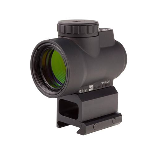 Trijicon MRO Red Dot Sight 2.0 MOA with PS Lower 1/3 Co-Witness Mount Matte