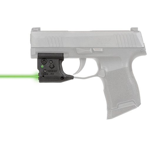 Viridian Reactor 5 Gen 2 Green Laser Sight with ECR Sig P365 Polymer Black with Inside the Waistband Holster