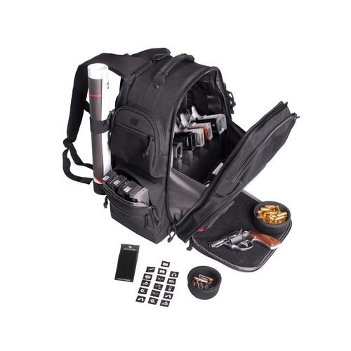 G.P.S. Executive Backpack Range Bag Nylon Black