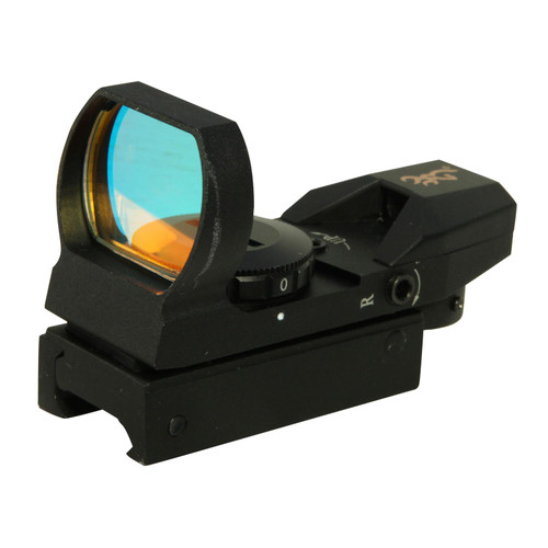 Browning Buckmark Red Dot Sight 4-Pattern Reticle (Circle-Dot-Cross, 3 MOA Dot, Cross-Dot, Circle-Dot) with Integral Weaver-Style Mount Matte