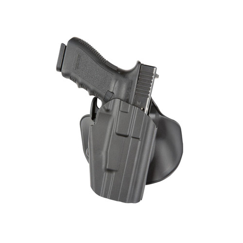 """Safariland 578 Pro-Fit GLS (Grip Lock System) Paddle and Belt Loop Wide Long Holster Right Hand Beretta 92, Springfield Armory XD 5"""", XDM 4.25"""", XDM 5.25"""", Sig Sauer P226, P320 Polymer Black"""